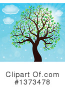 Royalty-Free (RF) Tree Clipart Illustration #1373478