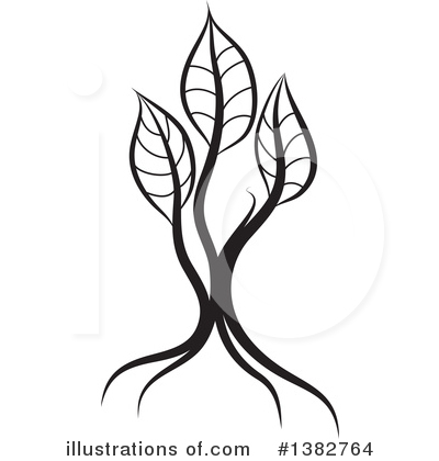 Seedling Clipart #1382764 by MilsiArt