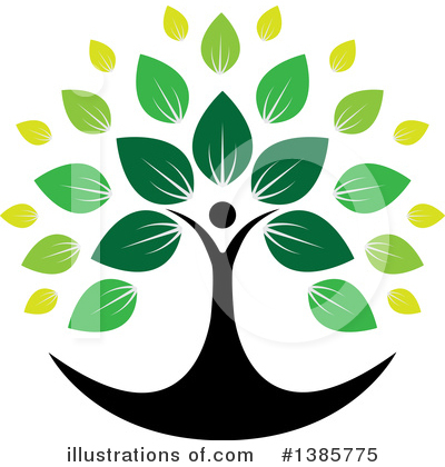 Tree Clipart #1385775 by ColorMagic