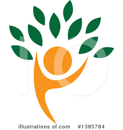 Royalty-Free (RF) Tree Clipart Illustration by ColorMagic - Stock Sample #1385784