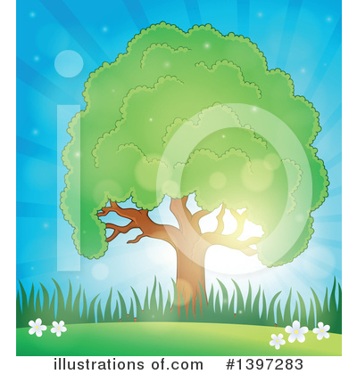 Tree Clipart #1397283 by visekart