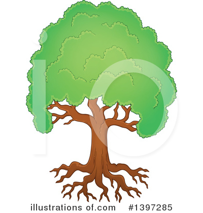 Tree Clipart #1397285 by visekart