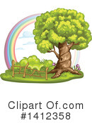 Tree Clipart #1412358 by merlinul
