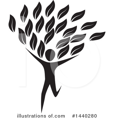 Royalty-Free (RF) Tree Clipart Illustration by ColorMagic - Stock Sample #1440280