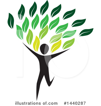 Royalty-Free (RF) Tree Clipart Illustration by ColorMagic - Stock Sample #1440287