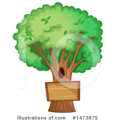 Royalty-Free (RF) Tree Clipart Illustration by Graphics RF - Stock Sample #1473875