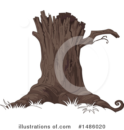 Tree Clipart #1486020 by Pushkin