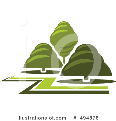 Tree Clipart #1494878 by Vector Tradition SM