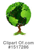 Tree Clipart #1517286 by AtStockIllustration