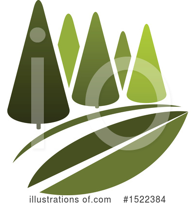 Trees Clipart #1522384 by Vector Tradition SM