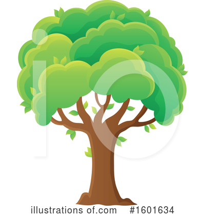Tree Clipart #1601634 by visekart