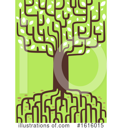Royalty-Free (RF) Tree Clipart Illustration by BNP Design Studio - Stock Sample #1616015