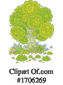 Tree Clipart #1706269 by Alex Bannykh