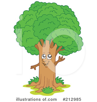 Tree Clipart #212985 by visekart