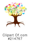 Royalty-Free (RF) Tree Clipart Illustration #214767