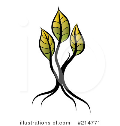 Seedling Clipart #214771 by MilsiArt