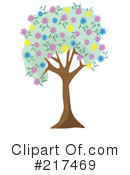 Royalty-Free (RF) Tree Clipart Illustration #217469