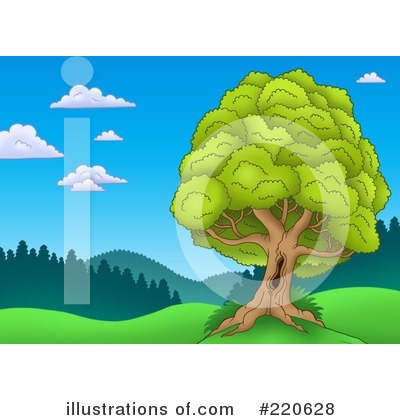 Tree Clipart #220628 by visekart