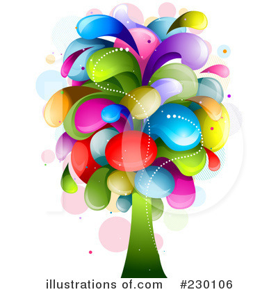 Royalty-Free (RF) Tree Clipart Illustration by BNP Design Studio - Stock Sample #230106