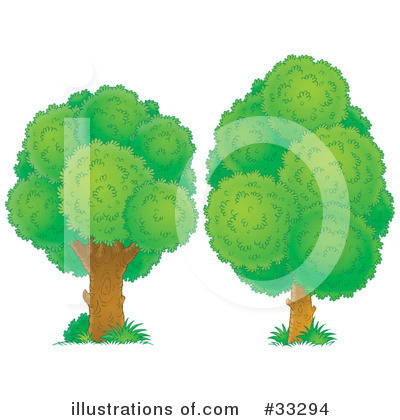Tree Clipart #33294 by Alex Bannykh