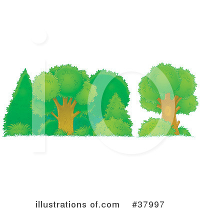 Tree Clipart #37997 by Alex Bannykh