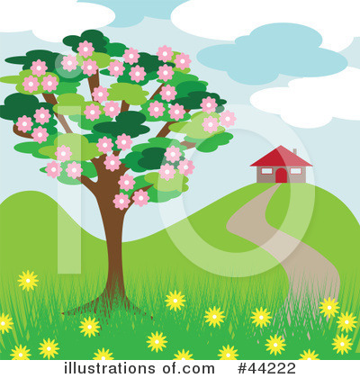 Blossoms Clipart #44222 by kaycee