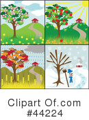 Royalty-Free (RF) Tree Clipart Illustration #44224