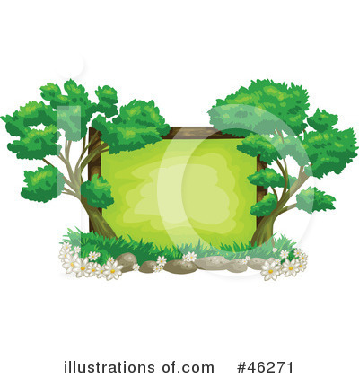 Royalty-Free (RF) Tree Clipart Illustration by Tonis Pan - Stock Sample #46271