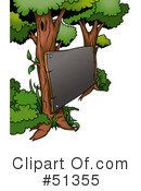 Royalty-Free (RF) Tree Clipart Illustration #51355