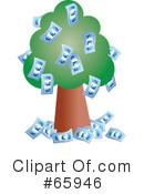 Royalty-Free (RF) Tree Clipart Illustration #65946