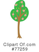 Royalty-Free (RF) tree Clipart Illustration #77259