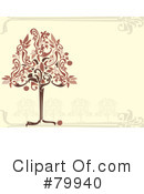 Royalty-Free (RF) Tree Clipart Illustration #79940