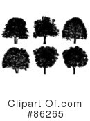 Royalty-Free (RF) Tree Clipart Illustration #86265