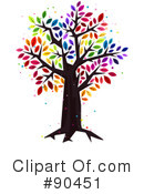 Royalty-Free (RF) Tree Clipart Illustration #90451