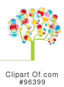 Royalty-Free (RF) Tree Clipart Illustration #96399