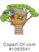 Tree House Clipart #1063541