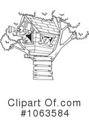 Tree House Clipart #1063584
