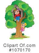 Royalty-Free (RF) tree house Clipart Illustration #1070170