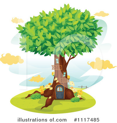 Tree Clipart #1117485 by Graphics RF