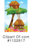 Tree House Clipart #1122617