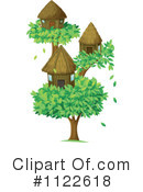 Tree House Clipart #1122618
