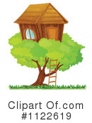 Tree House Clipart #1122619