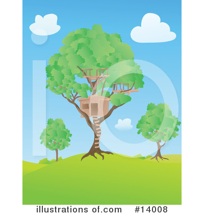 clip art tree house