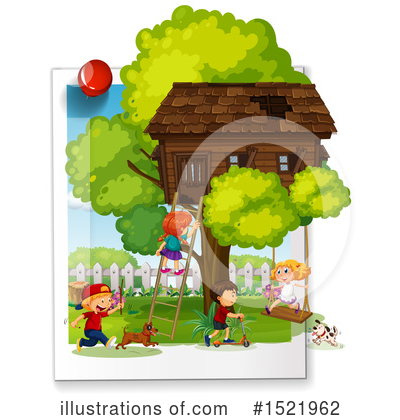 Tree House Clipart #1521962 by Graphics RF