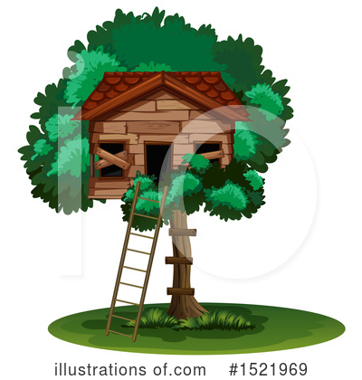 Tree House Clipart #1521969 by Graphics RF