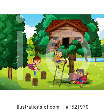 Tree House Clipart #1521976 by Graphics RF