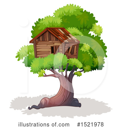 Tree House Clipart #1521978 by Graphics RF