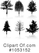 Royalty-Free (RF) Trees Clipart Illustration #1053152
