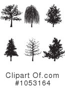 Royalty-Free (RF) Trees Clipart Illustration #1053164