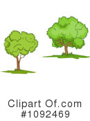 Trees Clipart #1092469 by Vector Tradition SM